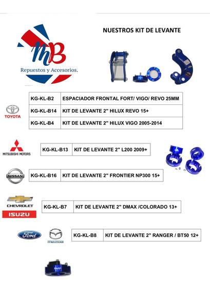 Kit De Levante 2 Pulgadas Toyota Hilux 2005-2015