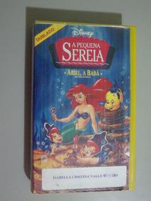 Fita Vhs A Pequena Sereia - Ariel , A Babá - Dublado