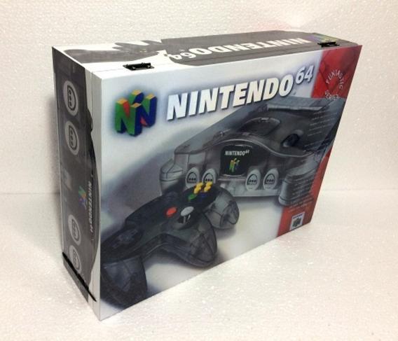Caixa Nintendo 64 Sabores - Jabuticaba De Madeira Mdf
