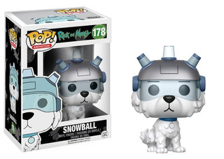 Funko Pop Animation Rick & Morty Snowball #178