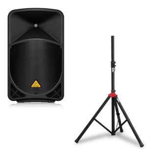 Bafle Behringer B115 Mp3 Potenciado Mp3 1000w + Tripode