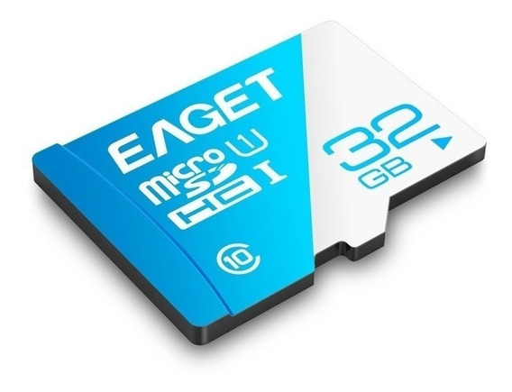 Memoria Micro Sd Eaget 32 Gb Clase 10 Nueva!