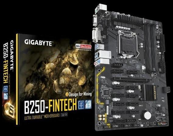 Placa-mãe Gigabyte Ga-b250-fintech Mining, Intel Lga 1151