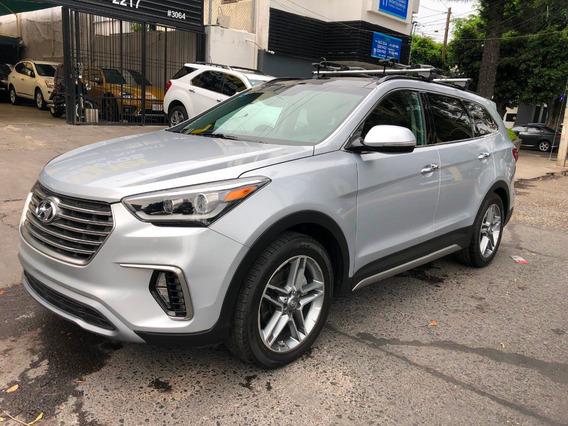 Hyundai Santa Fe 7 Pasajeros 3.4 Limited Tech At Año 2018