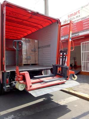 Camioneta Fletes Con Rampa Hidraulica En Monterrey