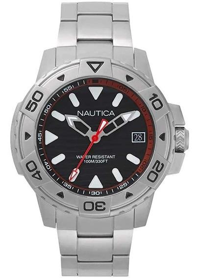 Relógio Nautica Masculino Aço Modelo Napegt005