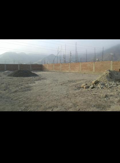 Urb. Los Huertos De Cieneguilla - Terreno De 1012 Mt2