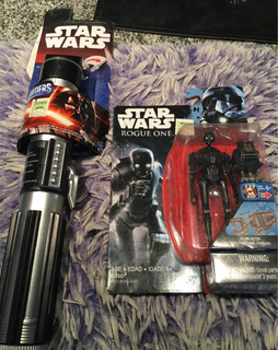Promo Espada Star Wars Darth Vader + K2so