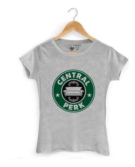 Camiseta Feminina Central Perk Seriado Camisa Friends Perk