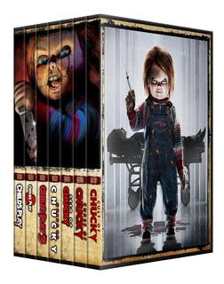 Chucky Saga Colección Completa Dvd 7 Peliculas Pack Latino