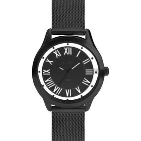 Relógio Ouse Ser Você Mesma Preto Feminino Euro Eu2039ji/4p