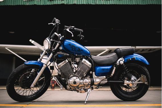 Yamaha Virago Xv 535 - Construida A Nueva Unica