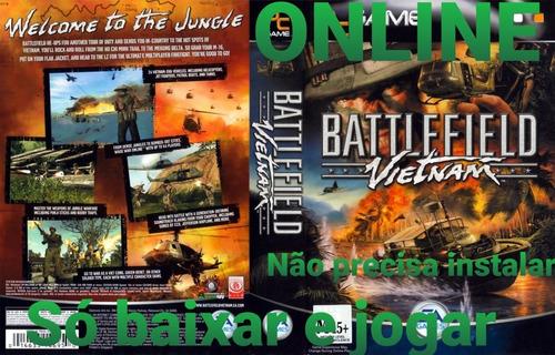 Battlefield Vietnam Pc Sem Instalação Envio Digital