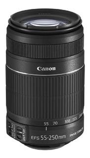 Lente Canon Efs 55-250mm F/4-5.6 Is Stm Estabilizador