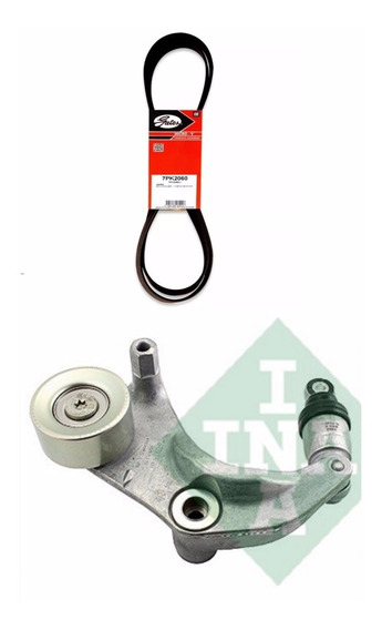 Kit Tensor Ina + Correia Alternador Gates Honda Civic 2011