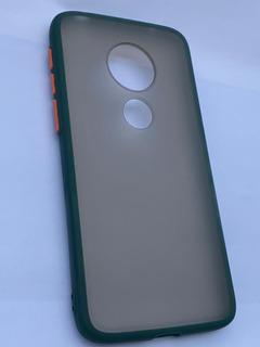 Capa Case Original Translúcida Moto G7 Play + Película Vidro