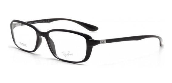 Armazones Ray Ban Liiteforce Rb 7037 5204 Shiny Black