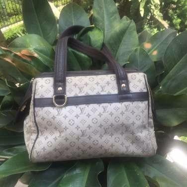 Bolsa De Tecido Louis Vuitton Original!