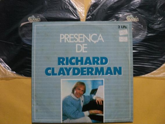 Lp Duplo Presença De Richard Clayderman- Zerados Frete 10,00