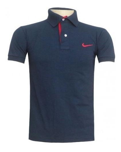 - Camisa Polo Nike Azul Marinho