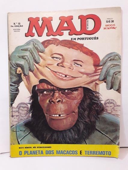 Revista Mad N° 19 Editora Vecchi Abril 1980 Ano Vi - 2a. Ed.