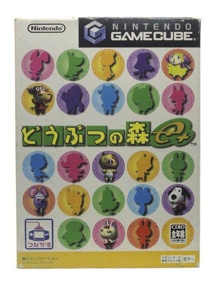 Doubutsu No Mori E+ Gamecube Japonês Mídia Física