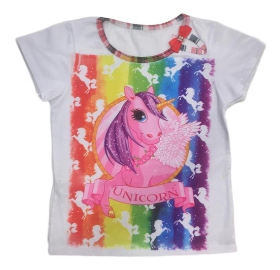 06 Camiseta Blusa Infantil Menina Roupas Infantis Atacado