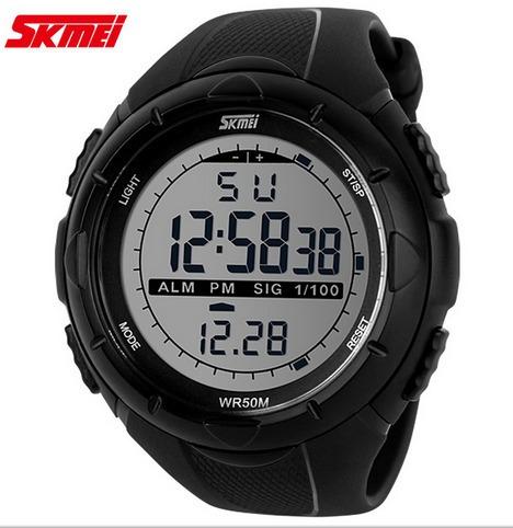 Relógio Masculino Esportivo Skmei Digital 1025 Preto