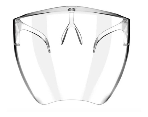 Careta Con Lentes Armazon Protector Facial Reutilizable