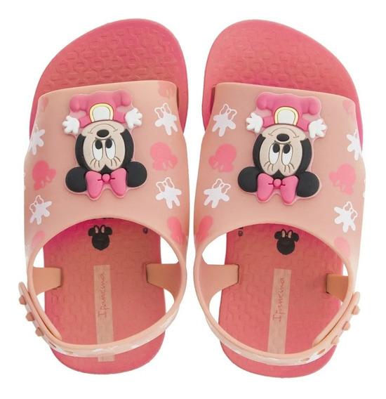 Sandalias Minnie Rosa Baby Con Envio Gratis Fty Calzados