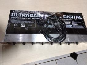 Behringer Ada Ultragain Pro 8 Digital Conversor Ad Da