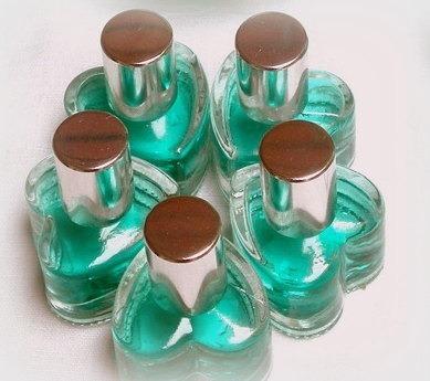 Pack 20 Corazones Perfumes X 10 Cc Y Tarjetita Personalizada