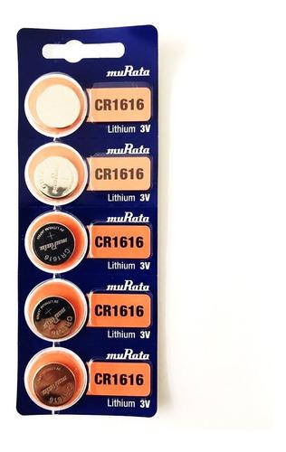 Pila Murata/sony Cr1616 Voltaje 3v Pack X 5
