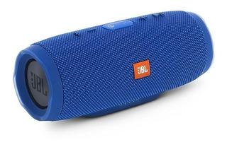 Parlante Jbl Charge 3 Bluetooth 20w Azul Original