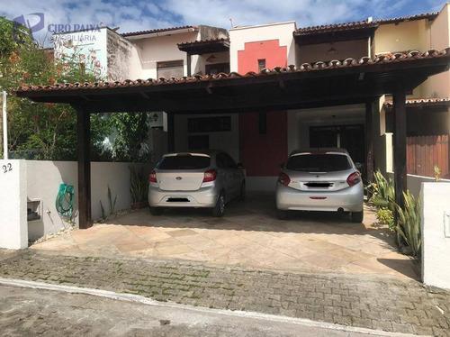Casa Com 3 Dormitórios À Venda, 100 M² Por R$ 350.000,00 - Sapiranga - Fortaleza/ce - Ca3140
