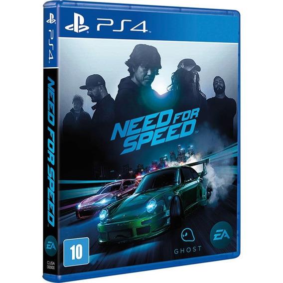 Jogo Need For Speed Ps4 Midia Fisica Novo Português Promoção