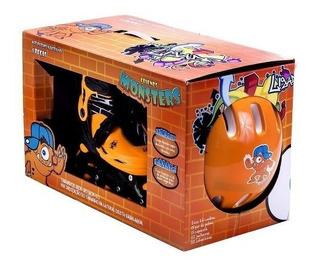 Kit Patins Ajustável (m) 35 A 38 Ligado Unik Toys