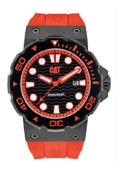 Reloj Cat Reef Date Rojo Analogo Cab D5 161 28 128