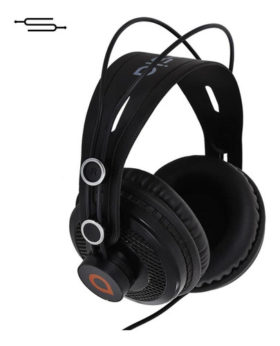 Auriculares De Estudio Artesia Amh11 Monitoreo Dj Estudio