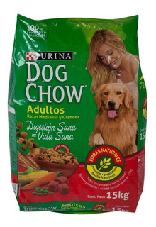 Alimento Para Mascotas Dog Chow Adulto Myg X 15kg