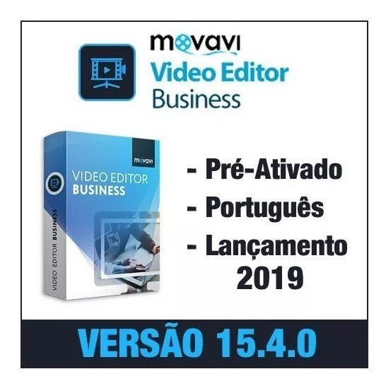 Gravador De Tela Movavi Video Editor Bussines 15.0