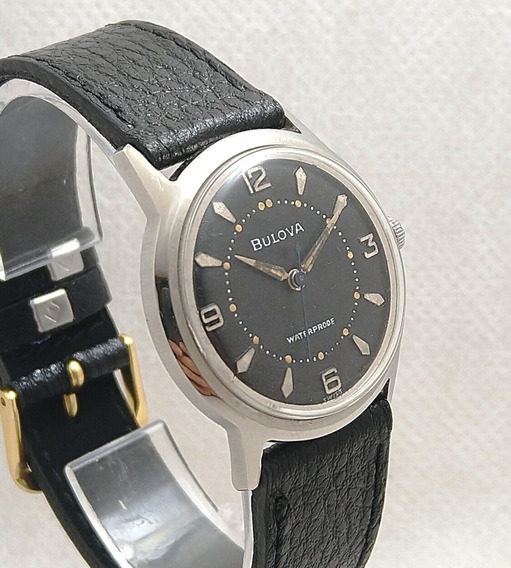 Relógio Bulova Masculino Antigo Corda Manual Raridade Lindo