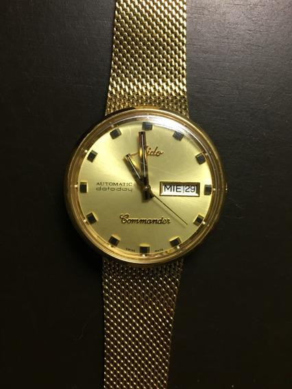 Reloj Mido Commander Aquadura M8429 Condición De Nuevo
