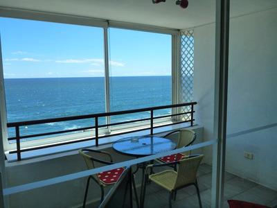 Departamento Vista Mar Y Frente A La Playa En Reñaca-cochoa