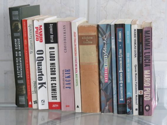 Lote 15 Livros Literatura Nacional E Estrangeira Imperdível