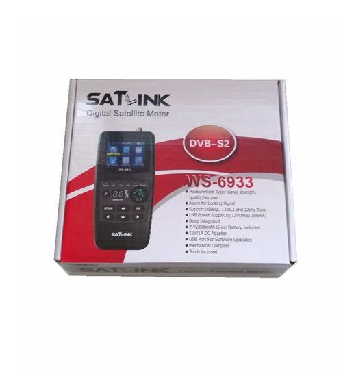 Localizador De Satelite Satlink Ws-6933 Dvb-s2 / Versão Acm