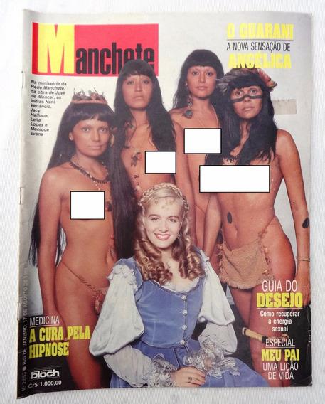Manchete Nº 2053: Angélica Guarani - Madonna Fotos Proibidas