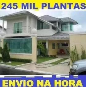 Projetos De Arquitetura Engenharia Casa Planta 240.000 Itens