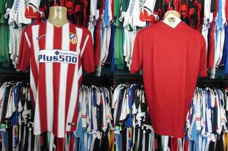 Atlético De Madrid 2015 Camisa Titular Tamanho Gg.