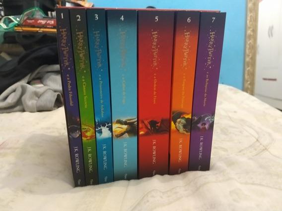Box Livros Harry Potter Edição De Colecionador